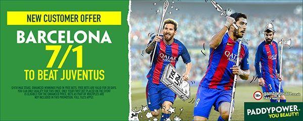 Barcelona vs Juventus Prediction and Bet