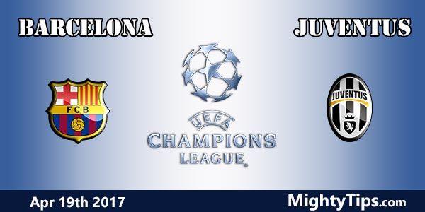 Barcelona vs Juventus Prediction and Betting Tips