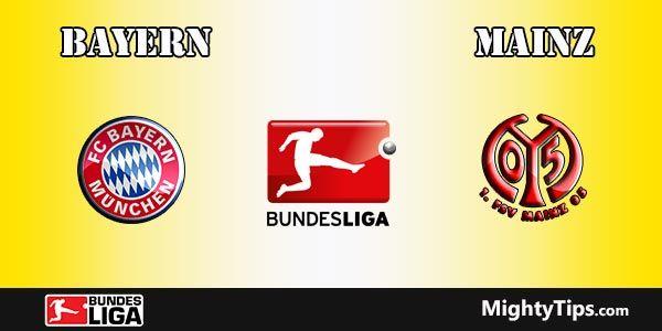 Bayern vs Mainz Prediction and Betting Tips