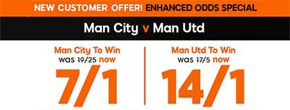Bet on Manchester City