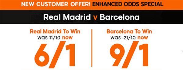 Real Madrid vs Barcelona Prediction and Bet