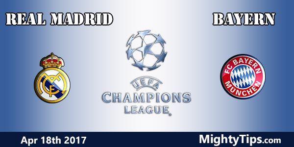 Real Madrid vs Bayern Prediction and Betting Tips