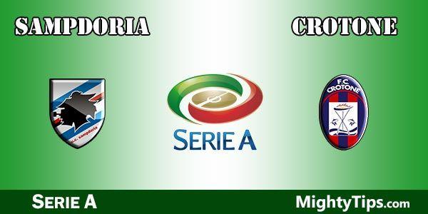 Sampdoria vs Crotone Prediction and Betting Tips