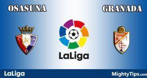 Osasuna vs Granada Prediction and Betting Tips