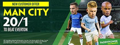 Bet on Citizens vs Toffees