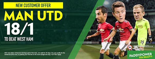Manchester United vs West Ham Prediction and Bet