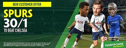 Bet on Tottenham vs Chelsea