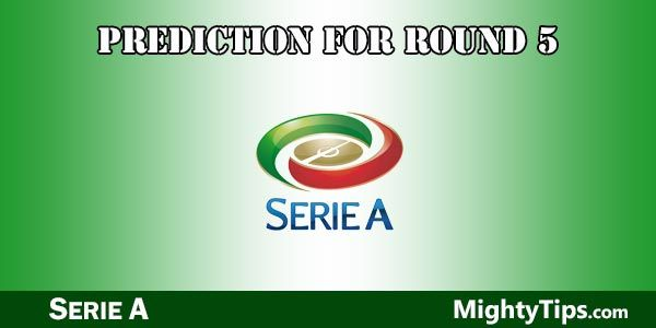 Serie A Predictions and Preview Round 5