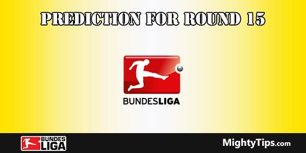 Bundesliga Predictions and Preview Round 15