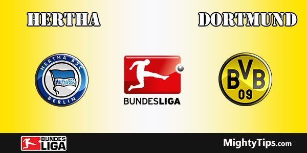 Hertha vs Dortmund Prediction, Preview and Bet