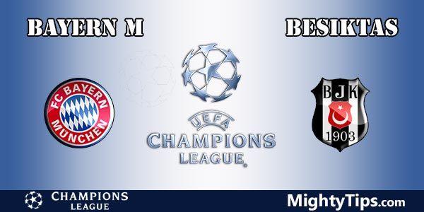 Bayern vs Besiktas Prediction and Betting Tips