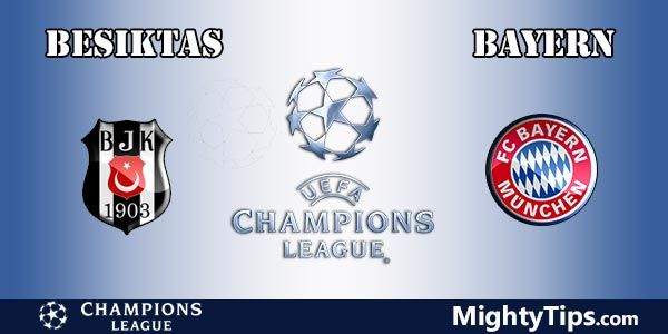 Besiktas vs Bayern Prediction, Betting Tips and Preview