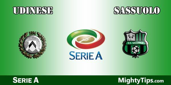 Udinese vs Sassuolo Prediction, Preview and Bet