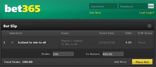 Nigeria vs Iceland Prediction and Bet
