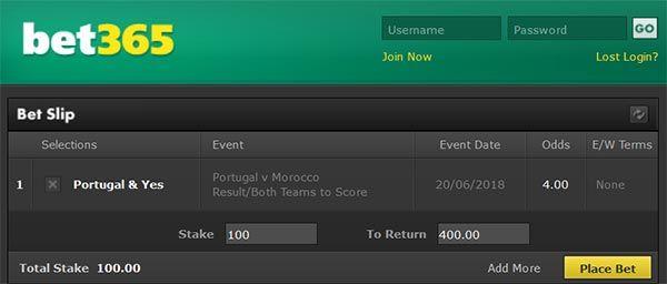 Portugal vs Morocco Prediction and Bet