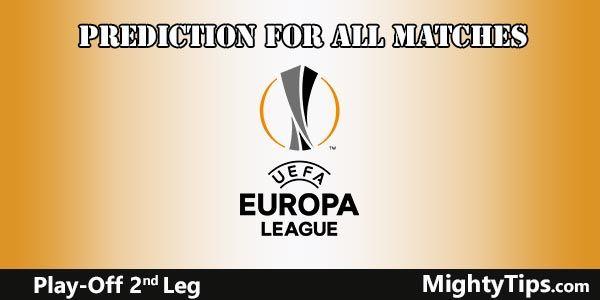 Europa League Prediction Play Off Second Leg