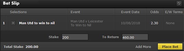 Manchester vs Leicester Prediction and Bet