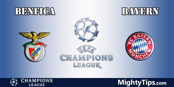 Benfica vs Bayern Prediction, Betting Tips and Preview