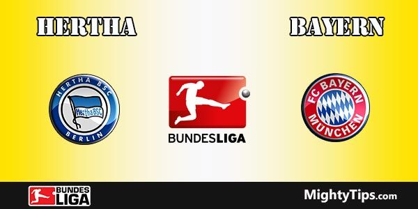 Hertha vs Bayern Prediction, Betting Tips and Preview