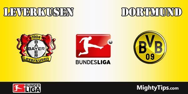 Leverkusen vs Dortmund Prediction, Preview and Betting Tips