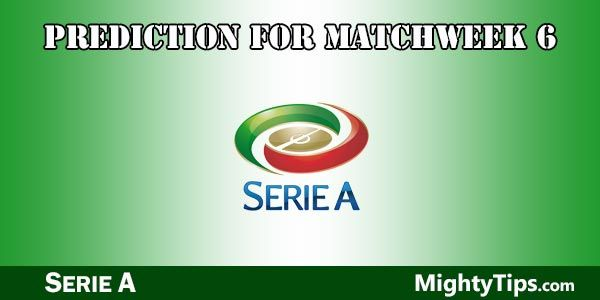 Serie A Prediction and Betting Tips Matchweek 6