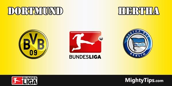 Dortmund vs Hertha Prediction, Preview and Betting Tips