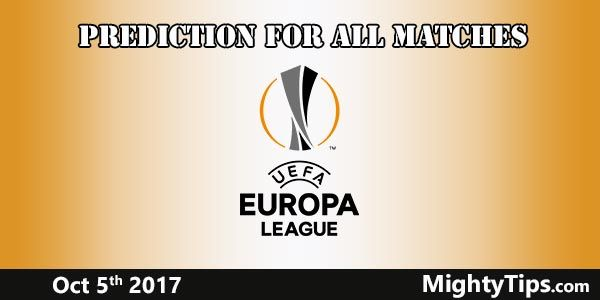 Europa League Prediction and Betting Tips Matchweek 2