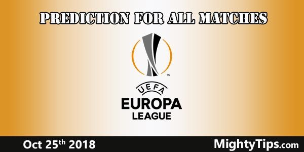 Europa League Prediction and Betting Tips Matchweek 3