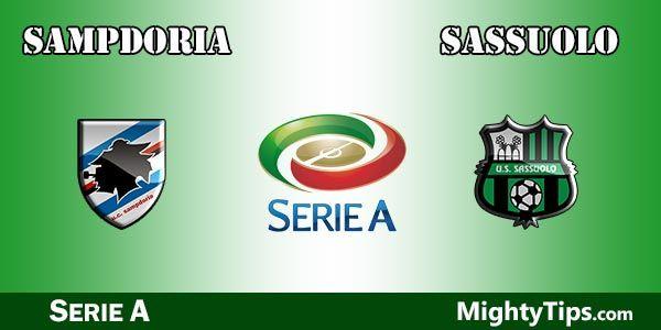 Sampdoria vs Sassuolo Prediction, Preview and Betting Tips
