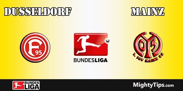 Dusseldorf vs Mainz Prediction, Preview and Betting Tips