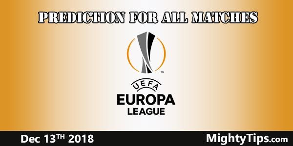 Europa League Prediction and Betting Tips Matchweek 6