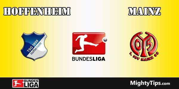 Hoffenheim vs Mainz Prediction, Preview and Betting Tips