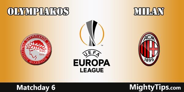 Olympiakos vs Milan Prediction, Preview and Betting Tips