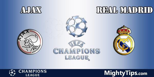Ajax vs Real Madrid Prediction, Preview and Betting TIps
