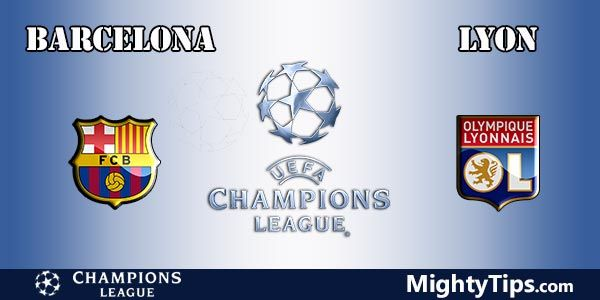 Barcelona vs Lyon Prediction