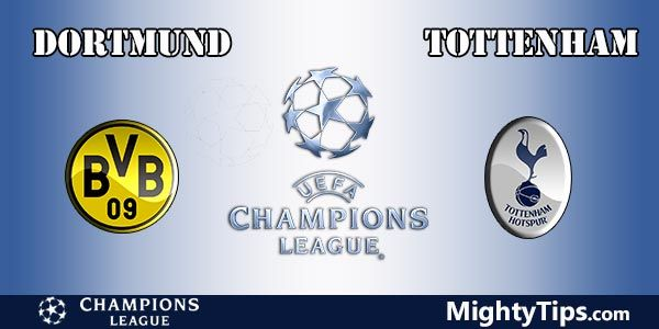 Dortmund vs Tottenham Prediction, Preview and Betting Tips