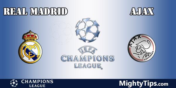 Real Madrid vs Ajax Prediction, Preview and Betting Tips