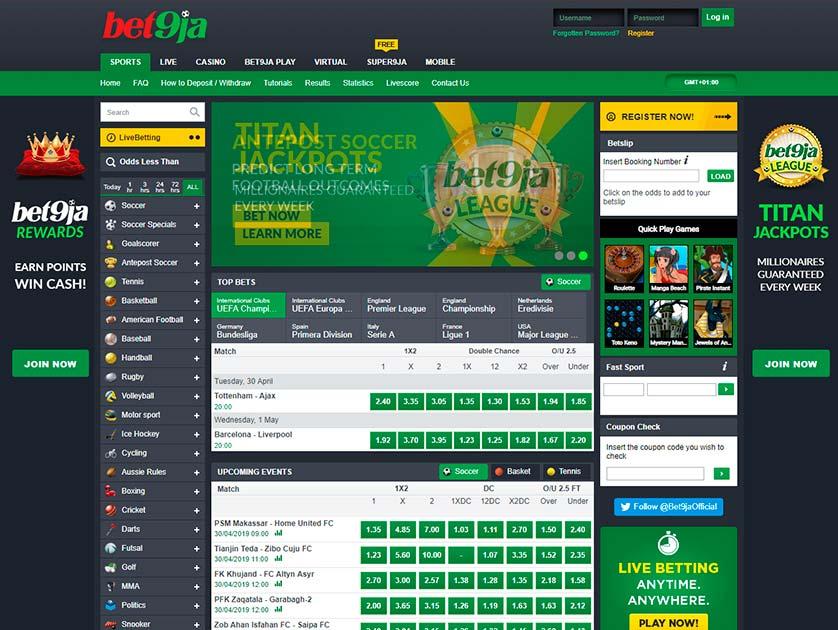 Bet9ja Nigeria Sport Betting Review — Welcome Bonus & Mobile Betting