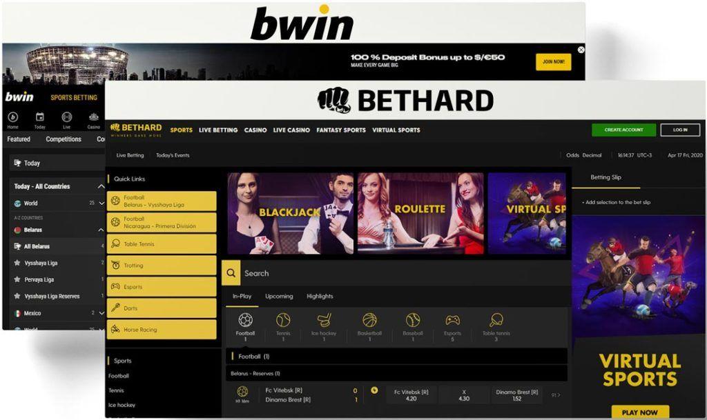 bethard vs bwin interface