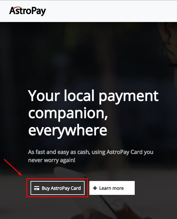 astropay register and top up tutorial