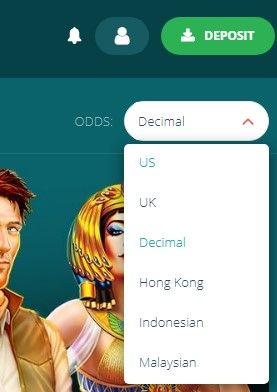 22bet odds format - desktop