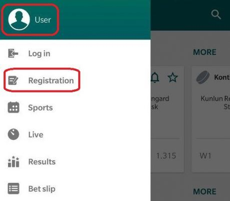 Registration on Android