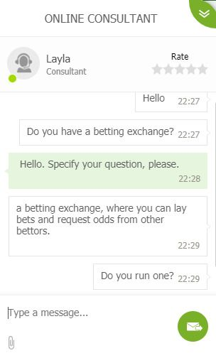 chat with melbet support