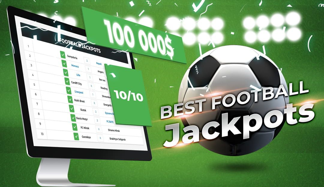 10 correct football outcomes can pay 100 000$ football jackpot