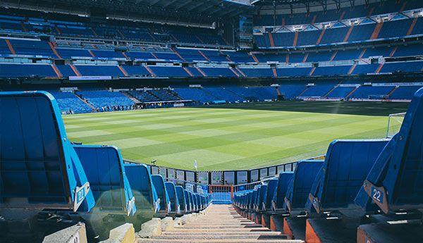 Return of Football Empty Stadium