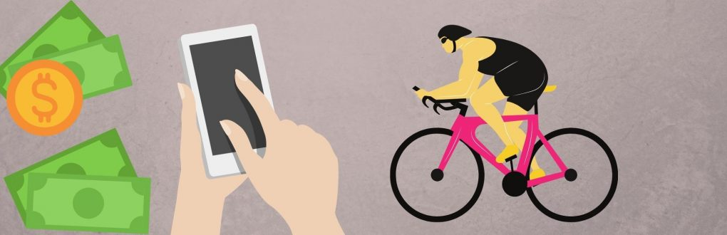 cycling mobile betting