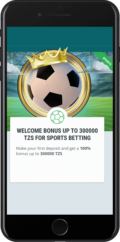 22Bet Tanzania welcome bonus