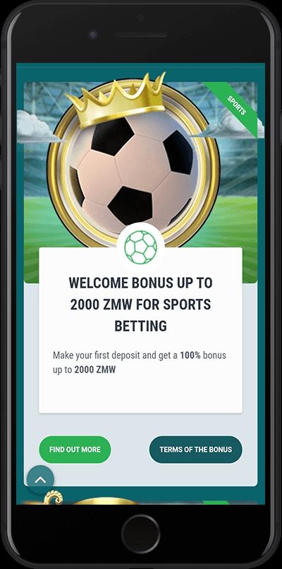 22bet zambia welcome bonus