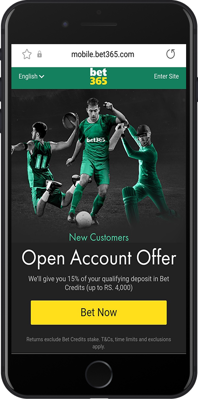 bet365 india welcome offer