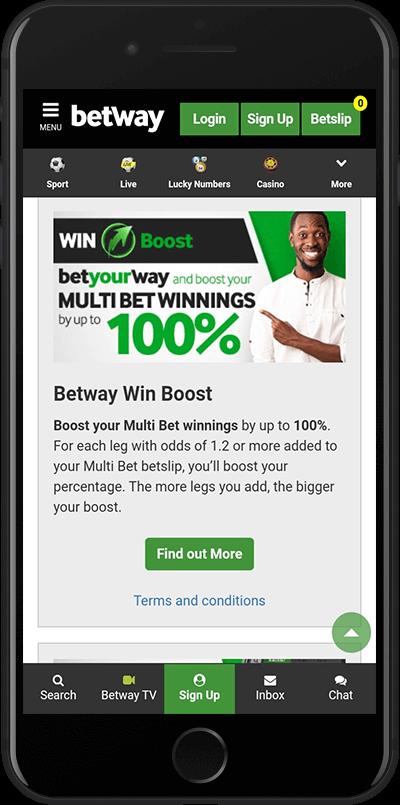 betway zambia multibet bonus